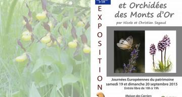 Insectes, fleurs et Orchidées des Monts d'Or. Demain qu'en restera-t-il ?