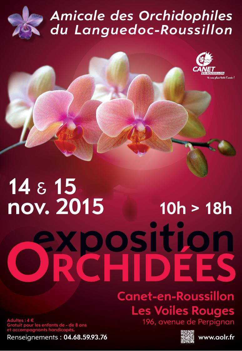 Exposition orchidées Canet en roussillon 2015