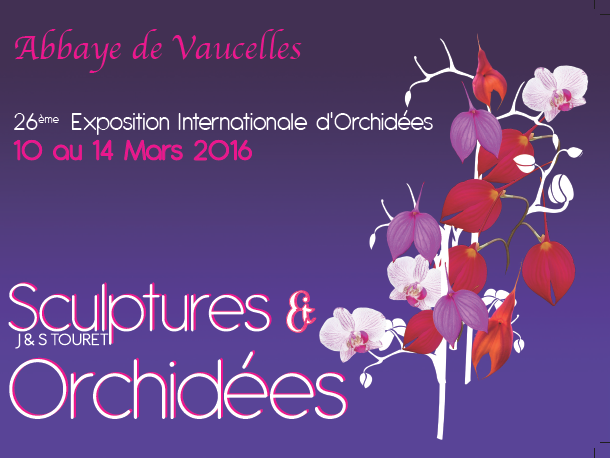 Exposition orchidées Abbaye Vaucelles 2016