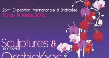 Orchidées & Art à Vaucelles