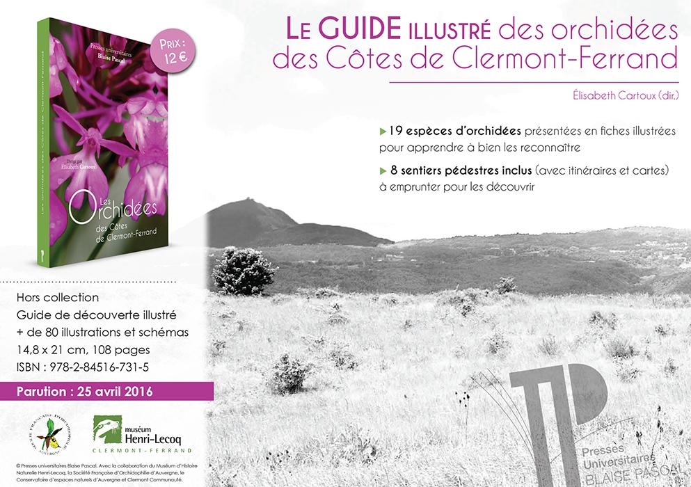 Orchidées CLermont-Ferrand Livre orchidées sauvages SFO association orchidées