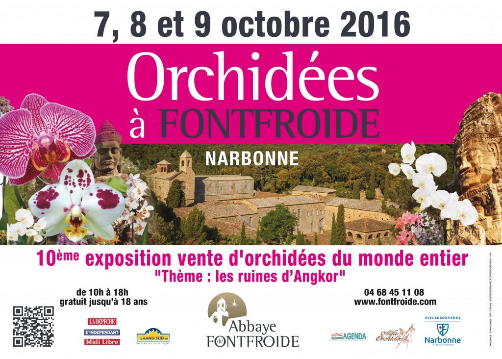 Orchidées Fontfroide 2016