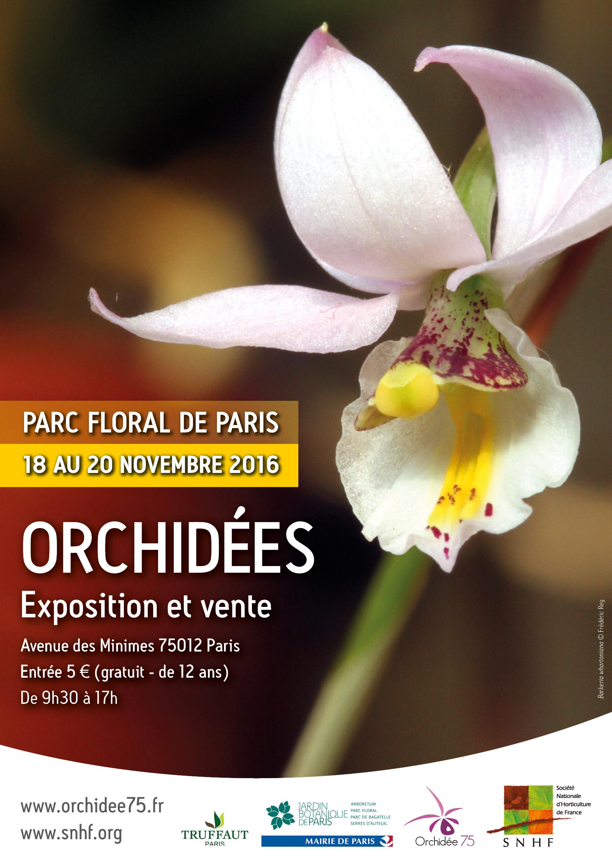 Expo Orchidées Vincennes