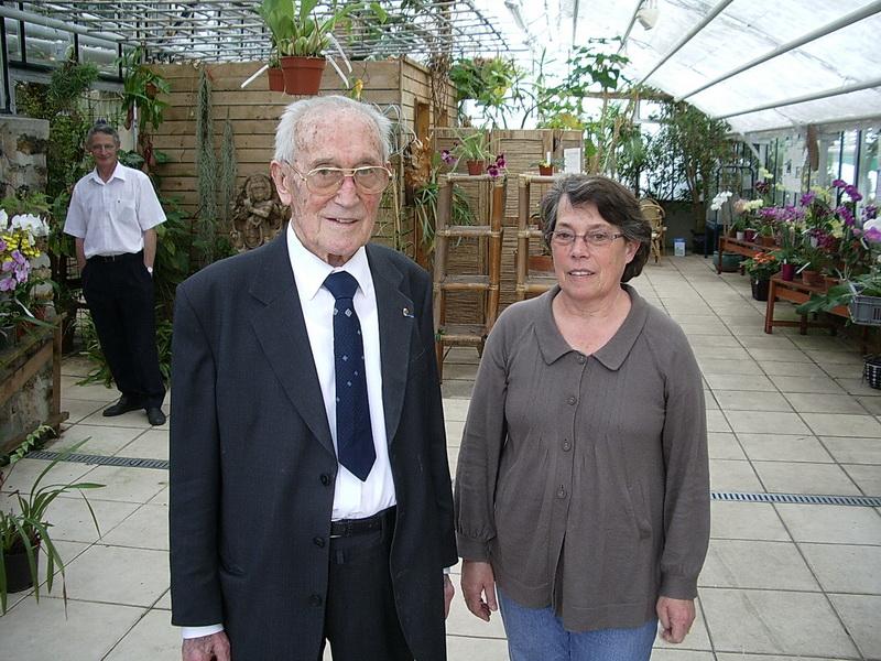 Marcel LEcoufle et sa fille Geneviève, dans leurs établissements de Boissy-Saint-Léger.