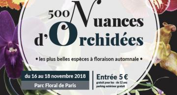 Exposition au Parc Floral de Vincennes (Paris) – 2018