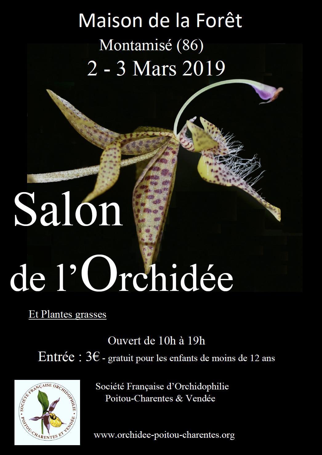 Exposition Orchidées Montamizé 2019