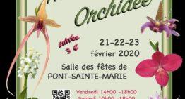 Exposition Nature Orchidée 21-23 février 2020