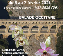 Annulé ! 20° salon international d'orchidées – Vergèze 2021