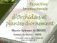Exposition internationale Orchidées – Angulocaste du 22 au 24 Octobre 2021