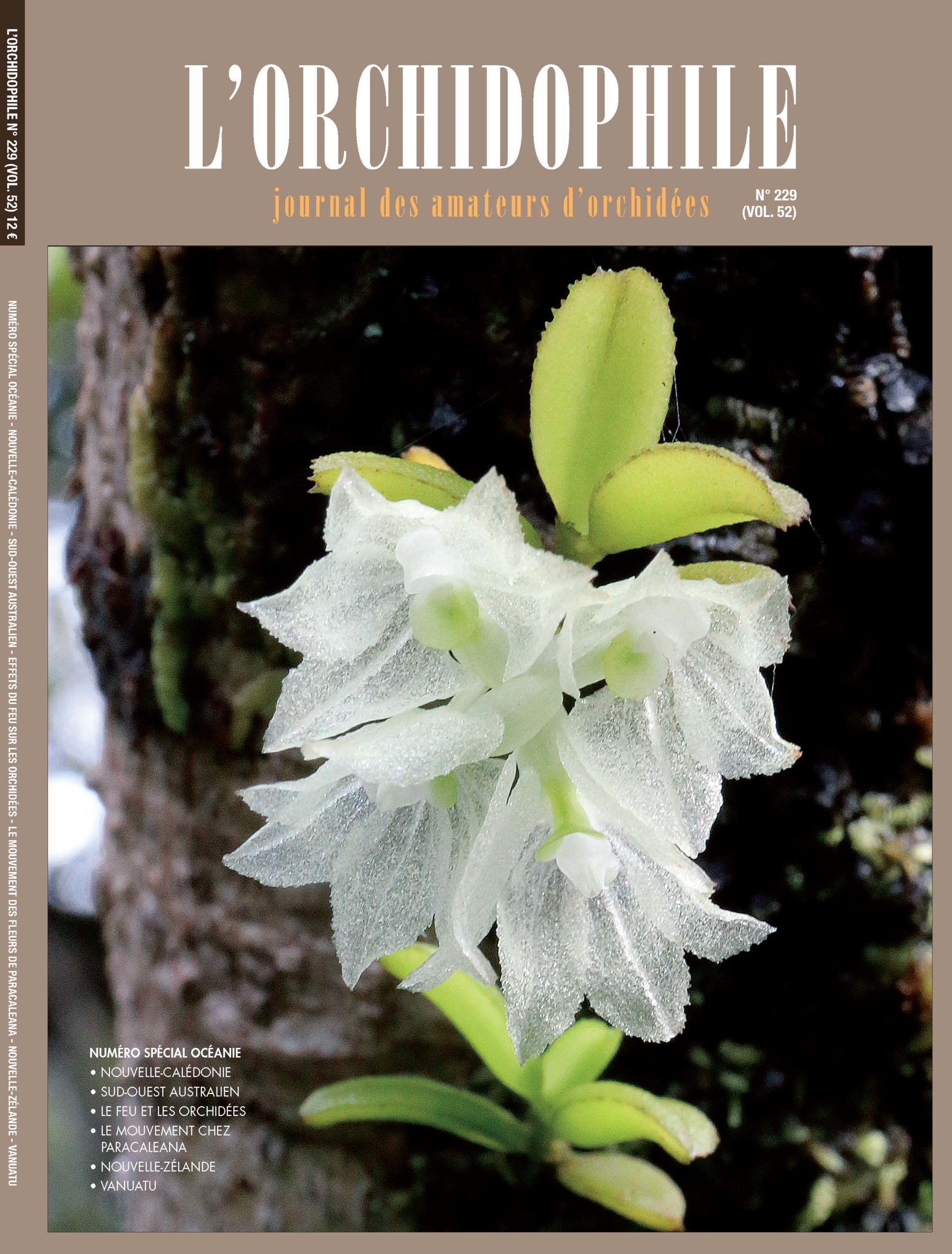Couverture Orchidophile 229